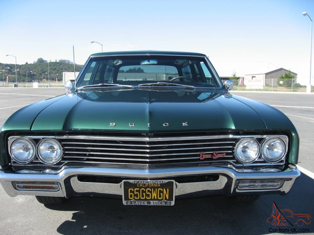 1965 buick gran sport wagon fully restored one of a kind ca car excellent