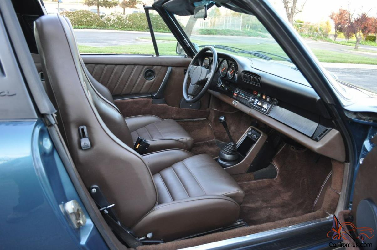 1978 Porsche 911 Sc Targa Sport Seats Rust Free Ca Car Low