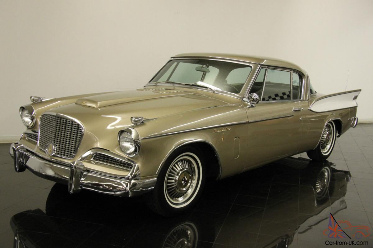 1958 studebaker golden hawk restored last year 289ci supercharged v8 auto ps a c