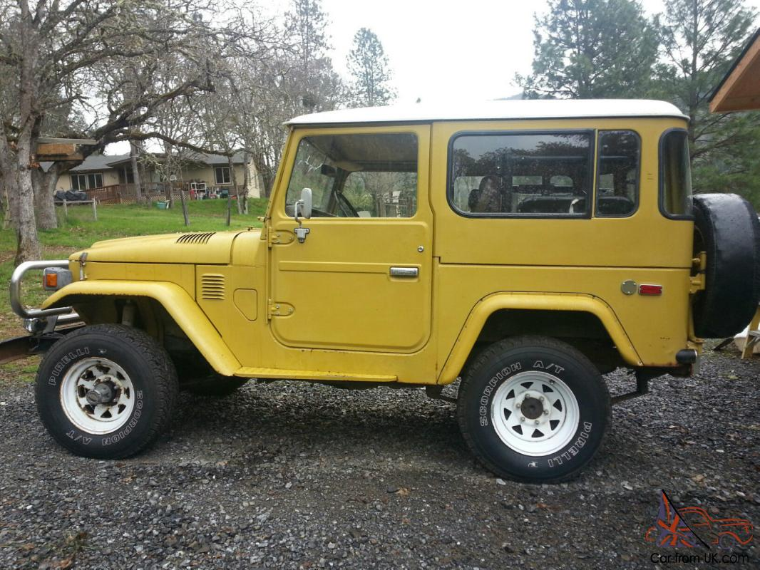 Original Clean 1977 Toyota FJ40 Land cruiser No Reserve