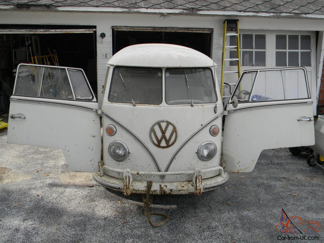 Vw bus 13 window walk through microbus with own manuals for 13 window vw bus