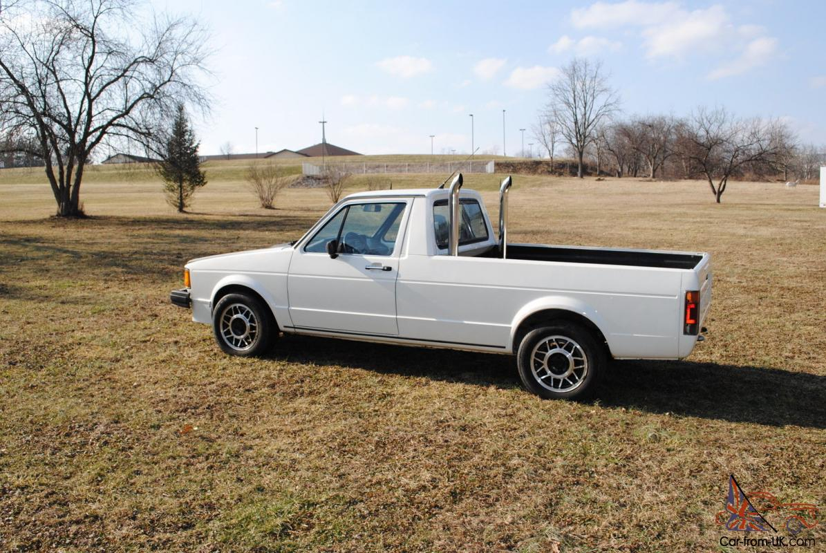 1981 vw turbo diesel pickup for sale