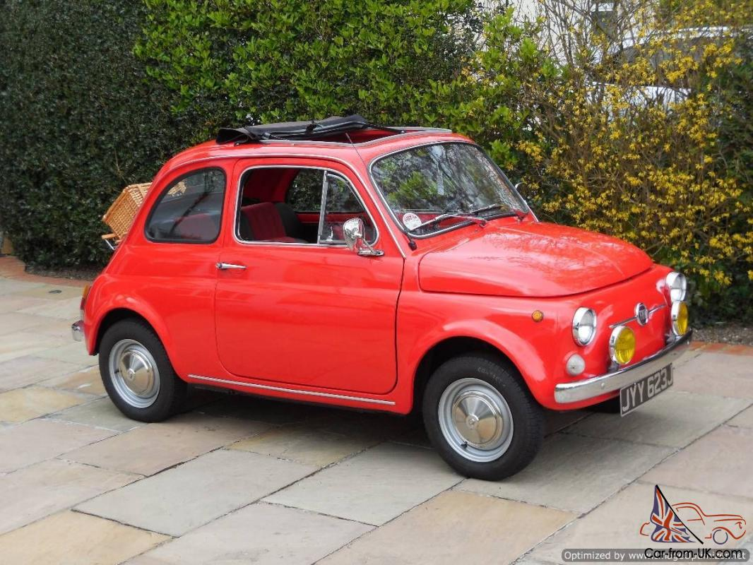 fiat 500 classic lhd 3 owners uk registered fully restored exceptional. Black Bedroom Furniture Sets. Home Design Ideas