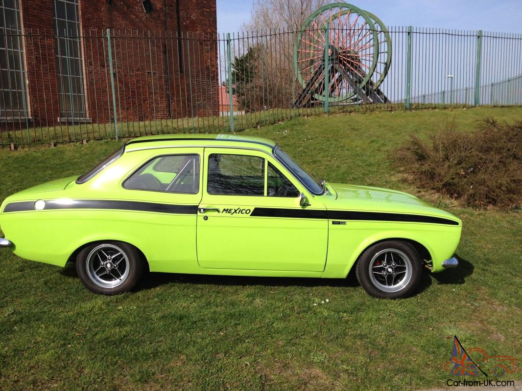 ford escort mexico 1972 original mexico lemans green over 3k spent on engine. Black Bedroom Furniture Sets. Home Design Ideas