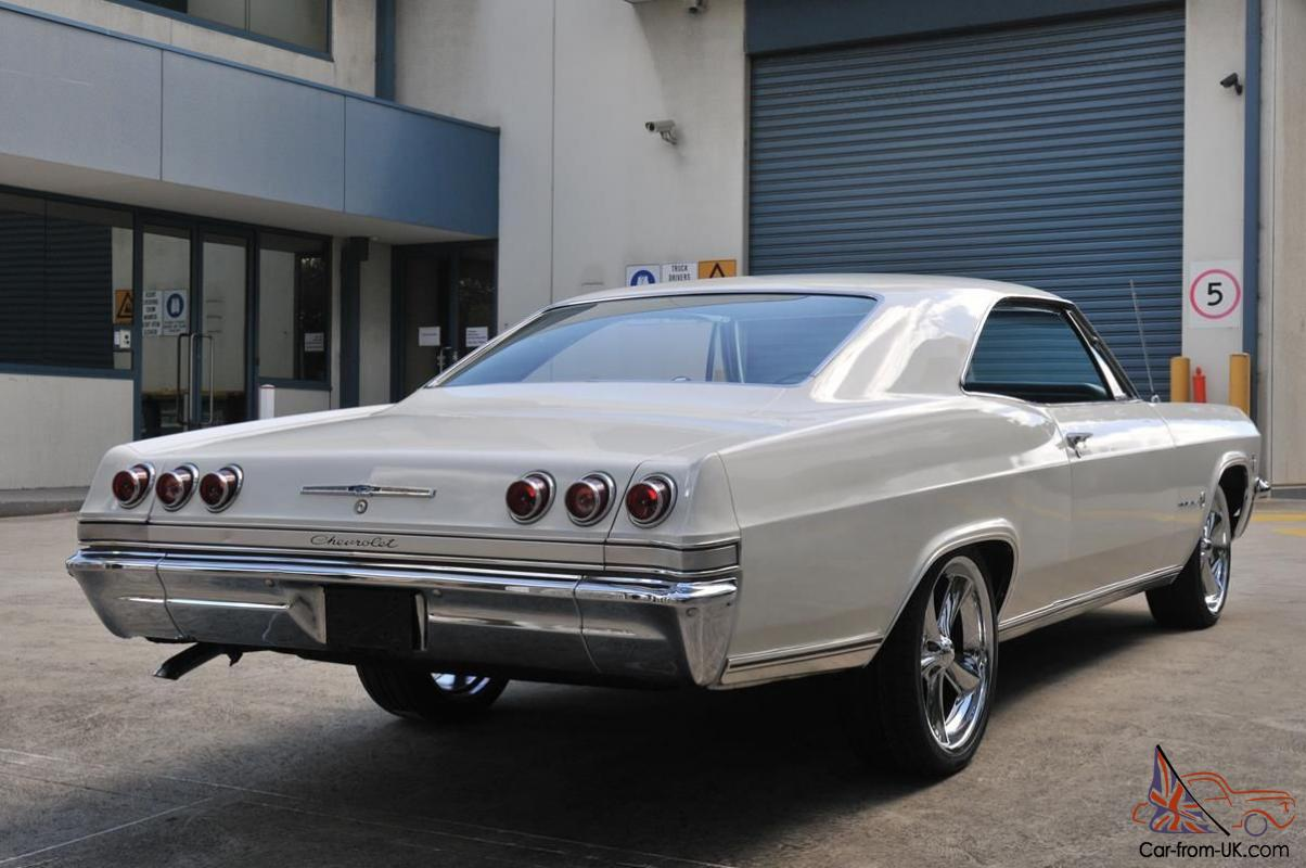 1965 Chevrolet Impala Fastback Numbers Matching 327 V8
