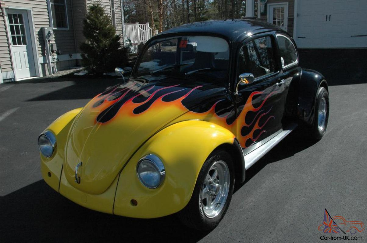 1972 vw bug show car cruise pro street drag fun rare scat cal custom rare. Black Bedroom Furniture Sets. Home Design Ideas