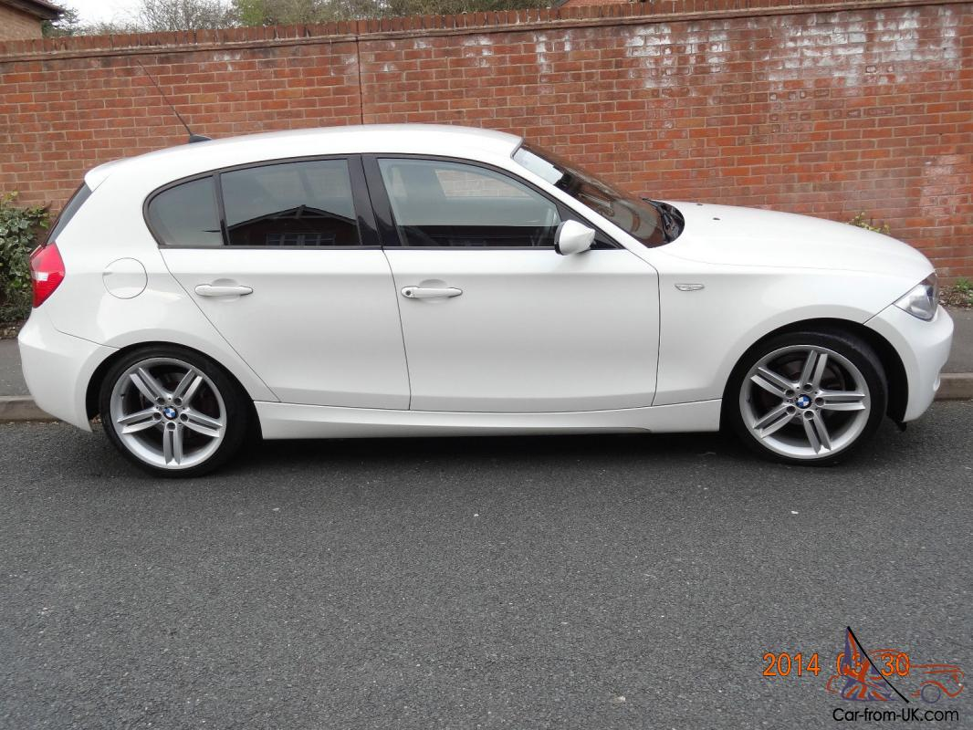 79105a0be35b34 BMW 1 SERIES IN WHITE M SPORT 58 PLATE IMMACULATE