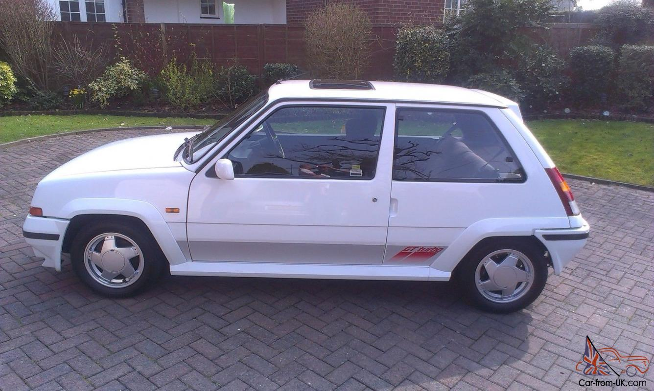 Renault 5 Turbo 2 For Sale Usa « Heritage Malta