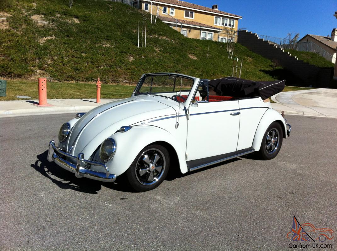 1964 convertible volkswagen classic beetle custom cabriolet lowered vw bug vert. Black Bedroom Furniture Sets. Home Design Ideas