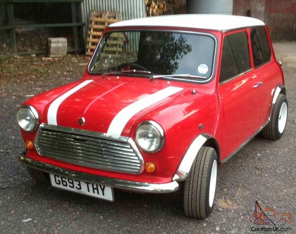 austin mini classic mini red for sale offers welcome. Black Bedroom Furniture Sets. Home Design Ideas