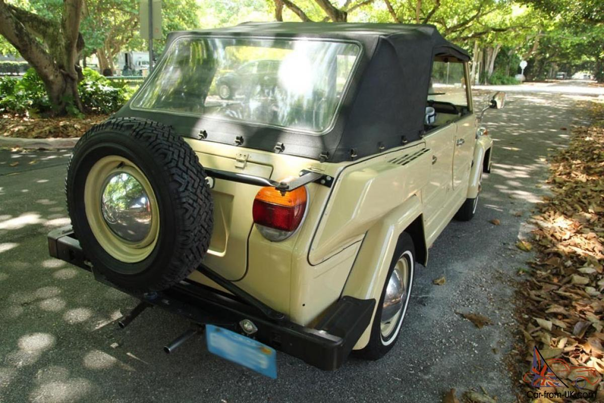 1974 Vw Thing 44 000 Original Miles Original Seats