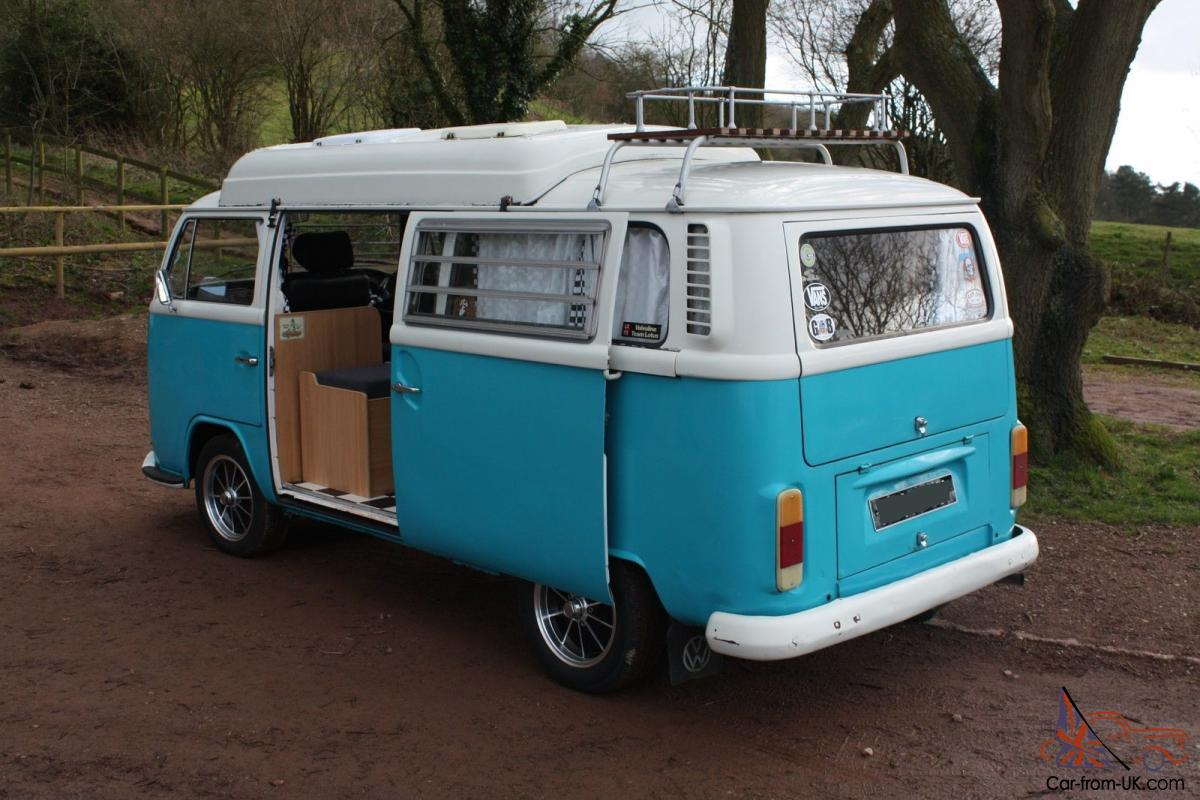 Vw T2 Bay 1971 Camper With Dormobile Conversion Tax Exempt
