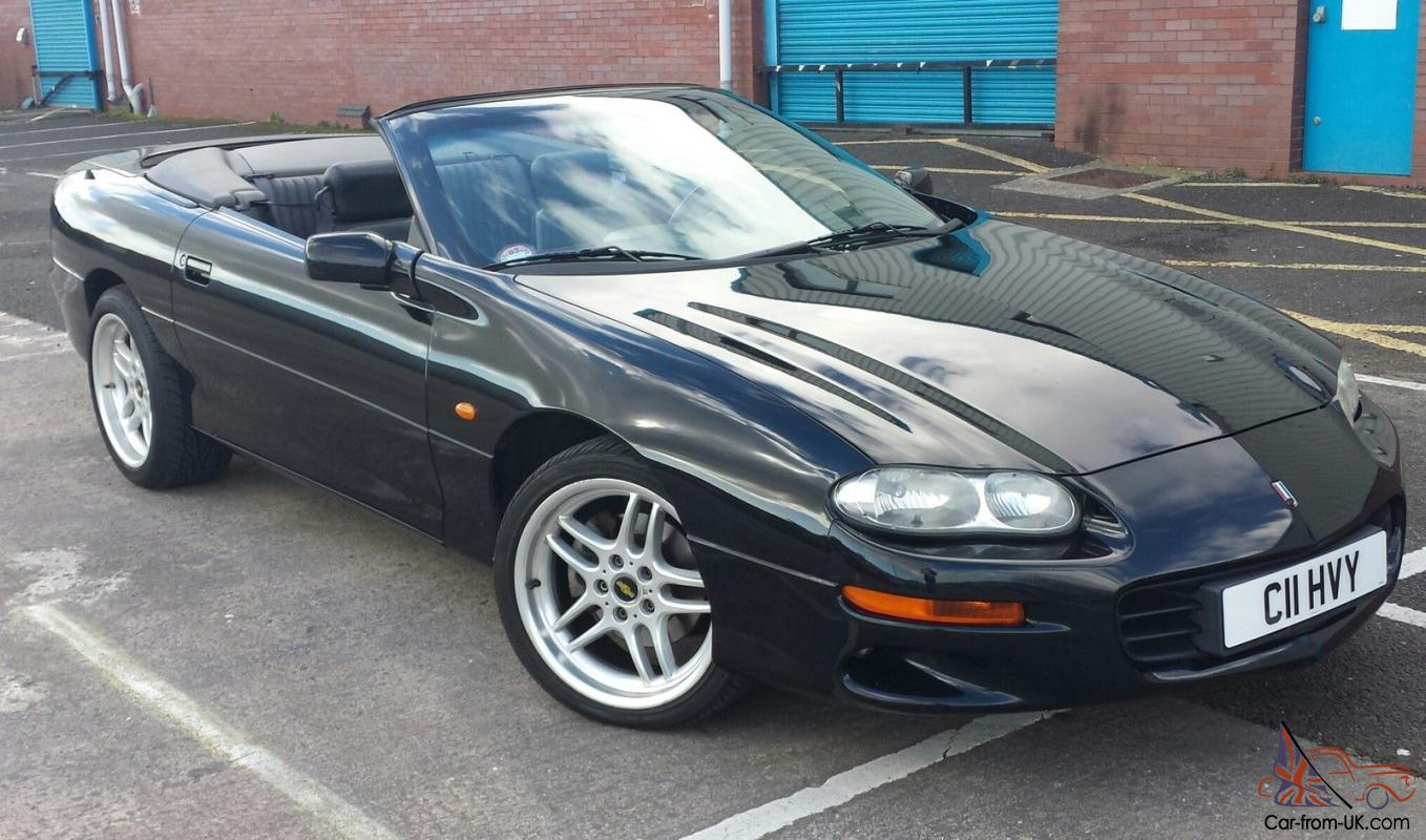 2000 Black Chevrolet Camaro Convertible 3.8 V6