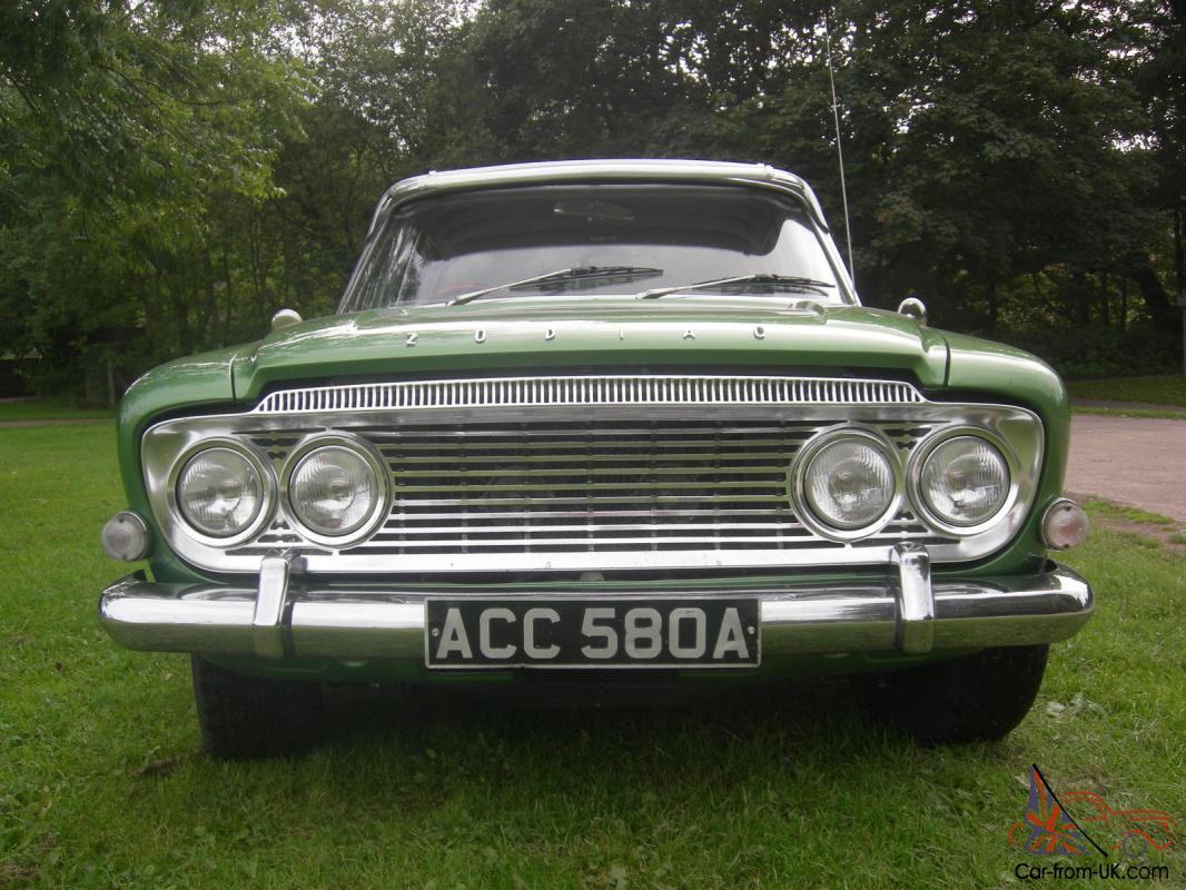 Zodiac 1962 (May) Mk3 V8 hot rod auto