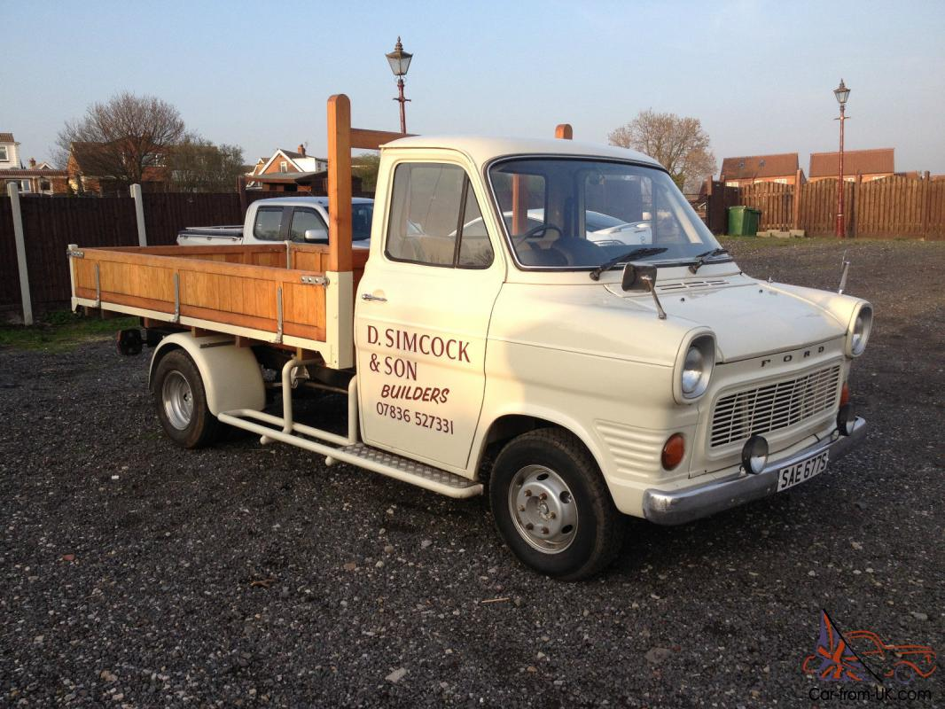 S MK1 FORD TRANSIT PICKUP MK1 MARK1 INFULLY RESTORED CONDITION ...