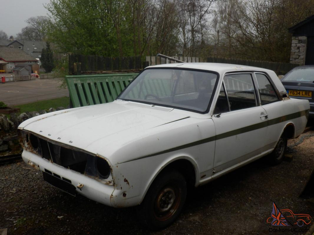 Cars For Sale Kendal Uk: Ford Lotus Cortina MK2 Series 1 Rolling Shell