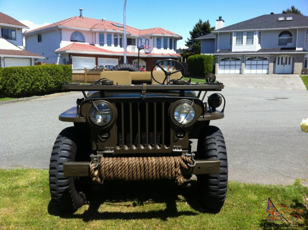 Ebay on 1952 Willys Jeep M38 For Sale