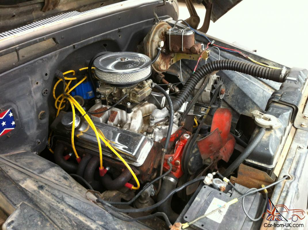 1966 Chevy C10 Pick Up Pickup  350 V8  4 Speed Manual