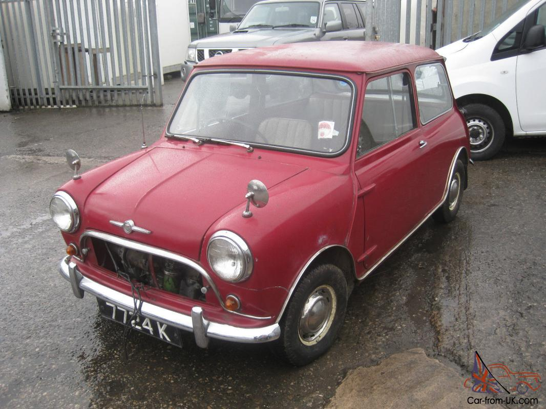 1960 Mk1 Morris Mini Minor Project For Restoration Austin Classic