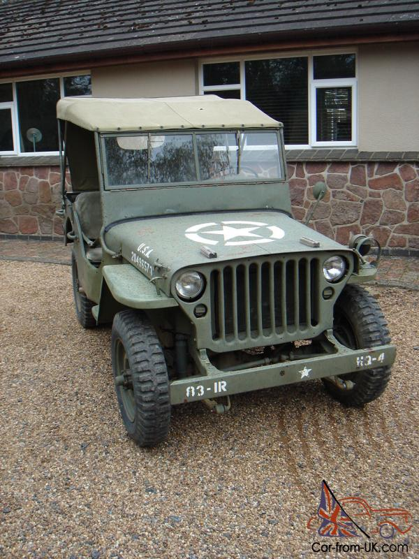 willys jeep 1944 mb military vehicle. Black Bedroom Furniture Sets. Home Design Ideas