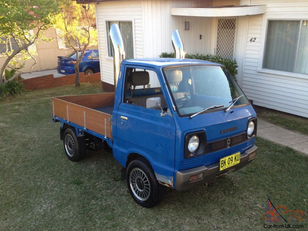 suzuki carry ute mini truck show car unfinished project in marrickville nsw. Black Bedroom Furniture Sets. Home Design Ideas