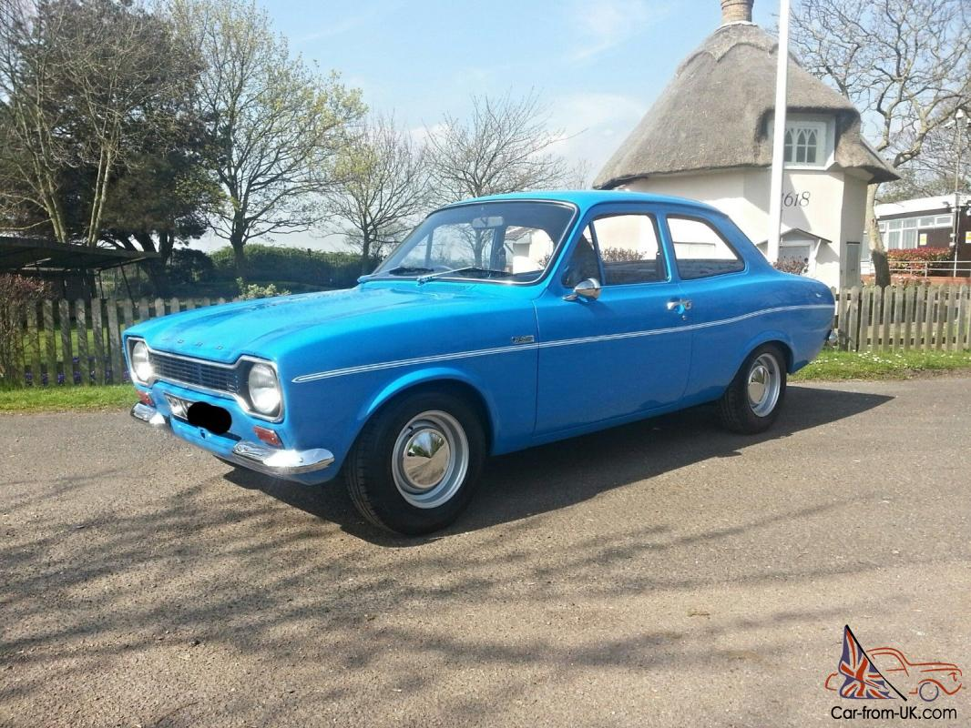 Ford Escort MK1 RS 1600 - YouTube