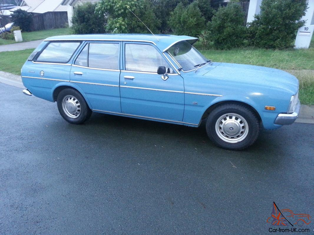 Toyota Corona Se 1977 4d Wagon 3 Sp Automatic 2l Carb In