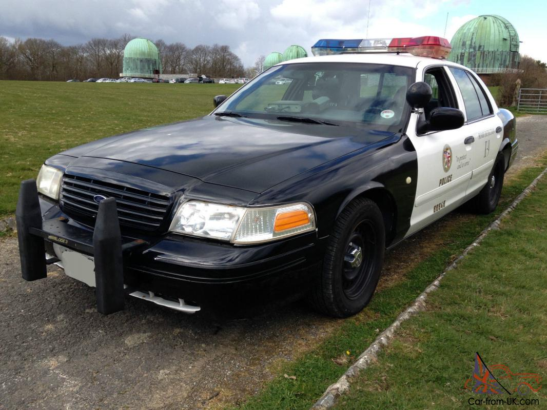 Fully Equipped Police Cars For Sale