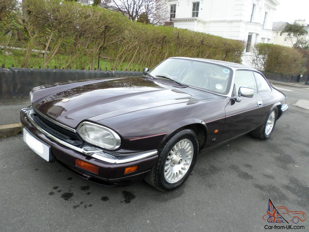 1995 JAGUAR XJS XJ S 6.0 V12 AUTO SPORTS RED **EXCELLENT CONDITION  THROUGHOUT**