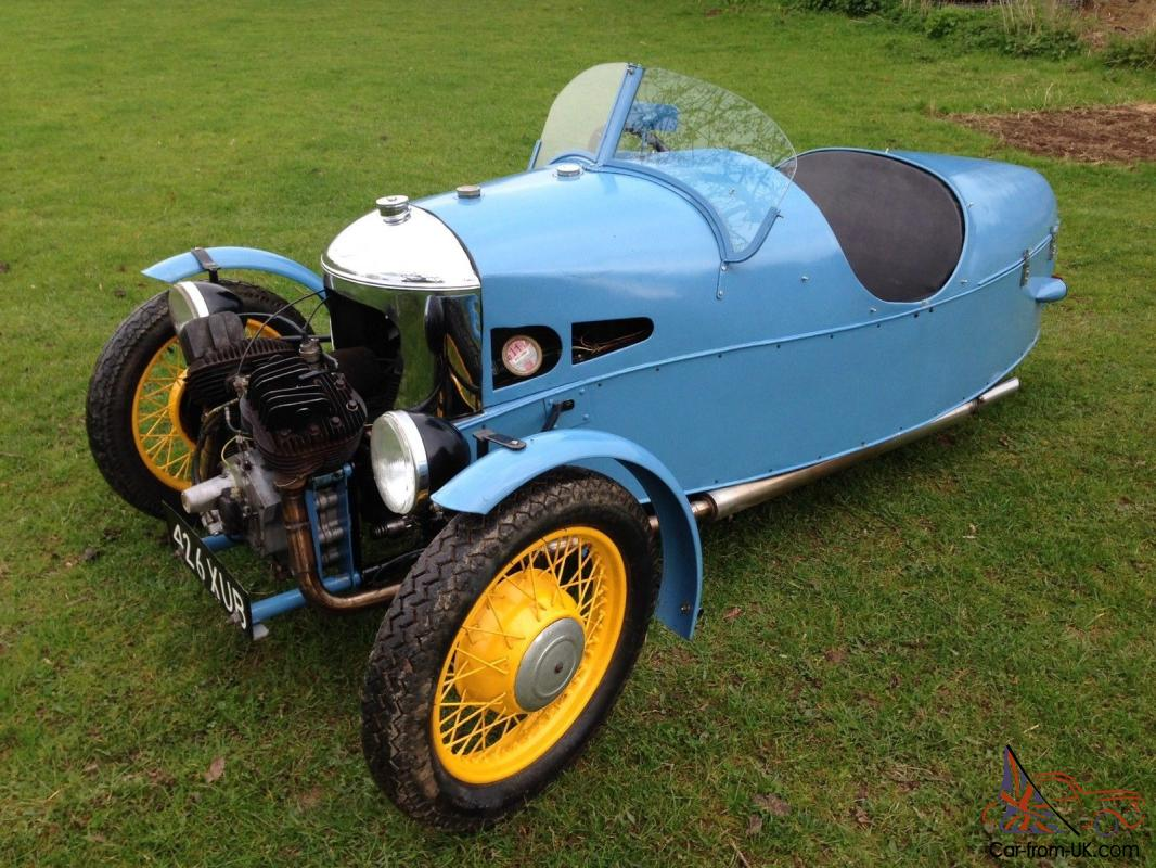 Morgan Three Wheeler For Sale >> Morgan 3 three wheeler- vintage car bike classic barn find restoration project