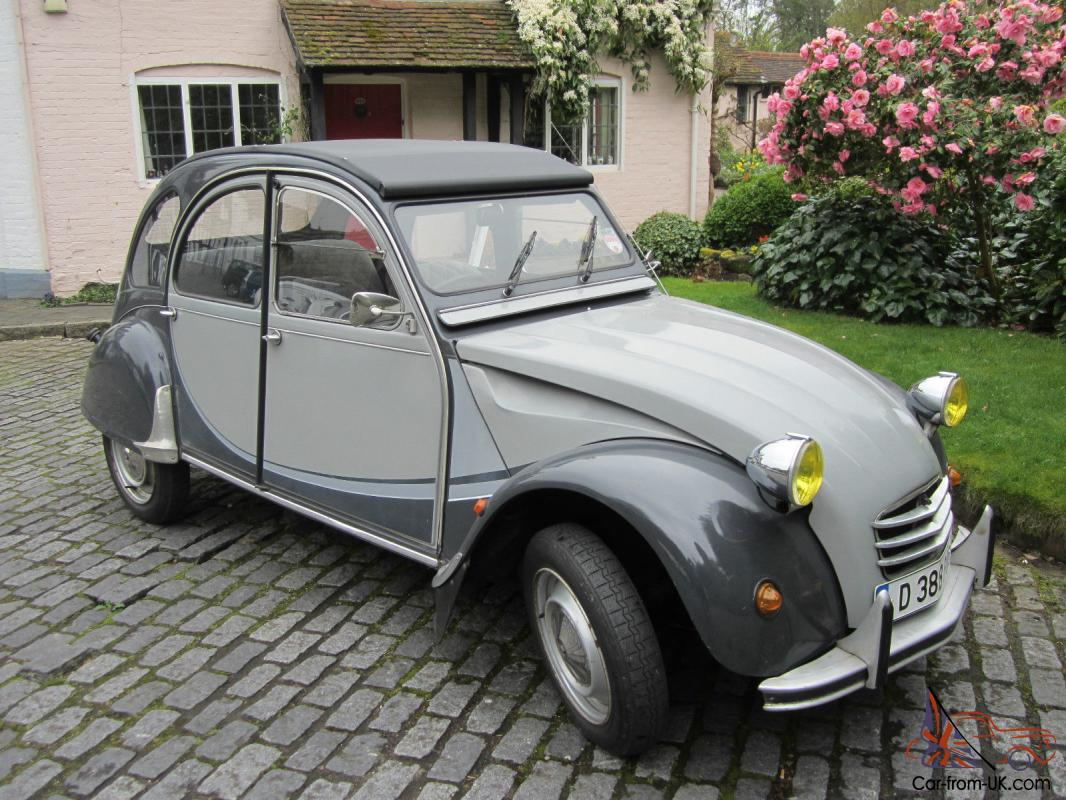 citroen 2cv charleston 1987 two tone grey. Black Bedroom Furniture Sets. Home Design Ideas