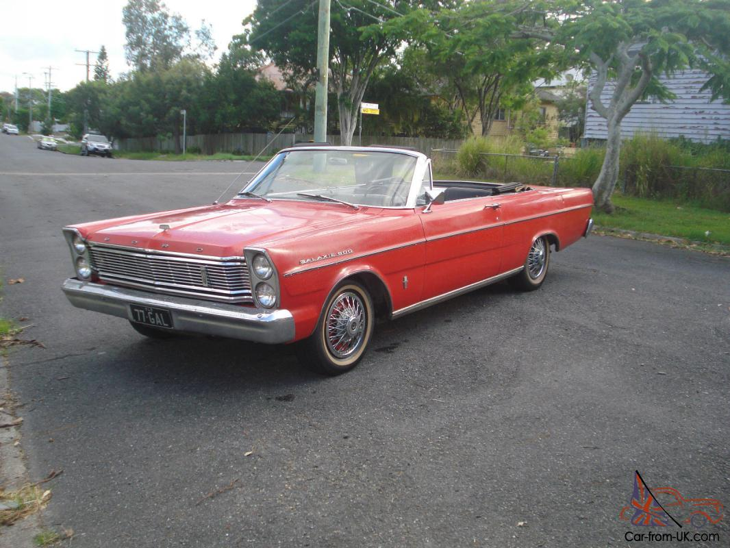 1965 Ford Galaxie Convertible Pictures