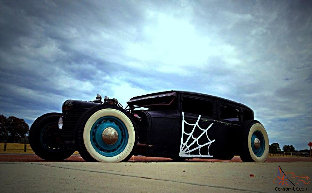 Ford Tudor RAT ROD HOT ROD