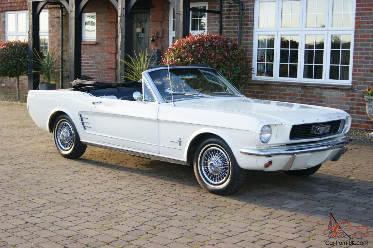 1965 ford mustang convertible restored photo