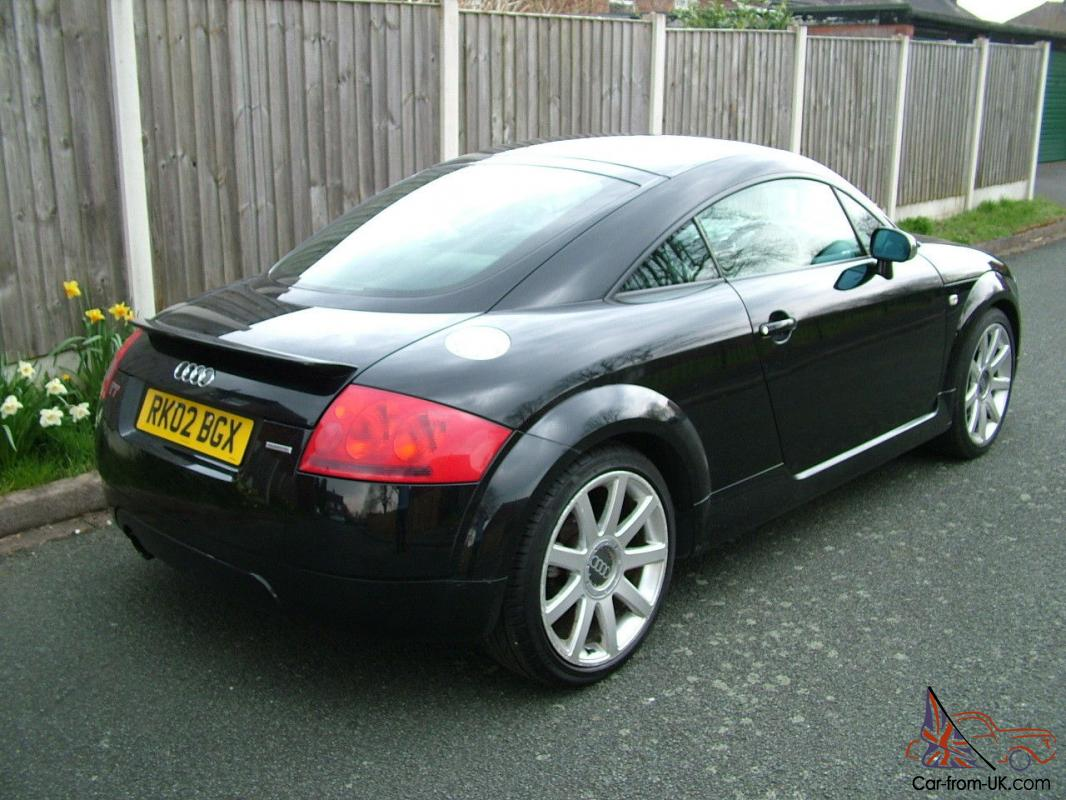2002 audi tt 1 8 turbo quattro coupe full service history black black leather