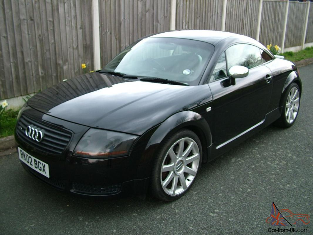 2002 audi tt 1 8 turbo quattro coupe full service history black black leather. Black Bedroom Furniture Sets. Home Design Ideas