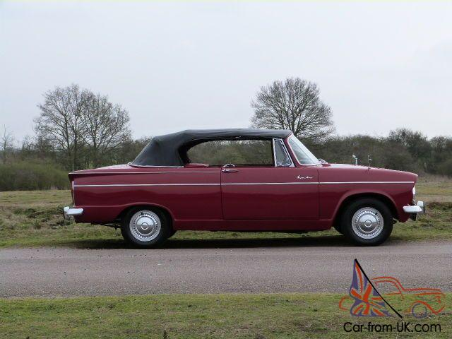 1964 Hillman Super Minx Convertible 83000 Miles From New
