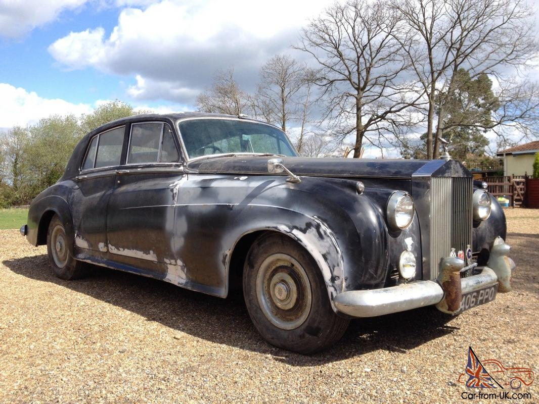 1957 Rolls Royce Silver Cloud 1 Straight 6 Power Steering Barn Find