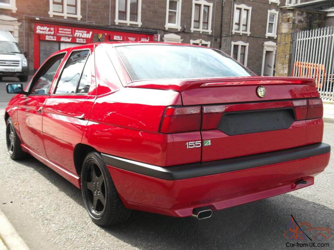 alfa romeo 155 q4 widebody only 2 in the country. Black Bedroom Furniture Sets. Home Design Ideas
