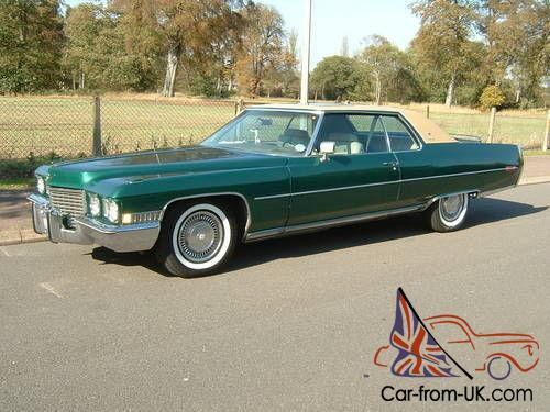 cadillac coupe deville 1972. Cars Review. Best American Auto & Cars Review