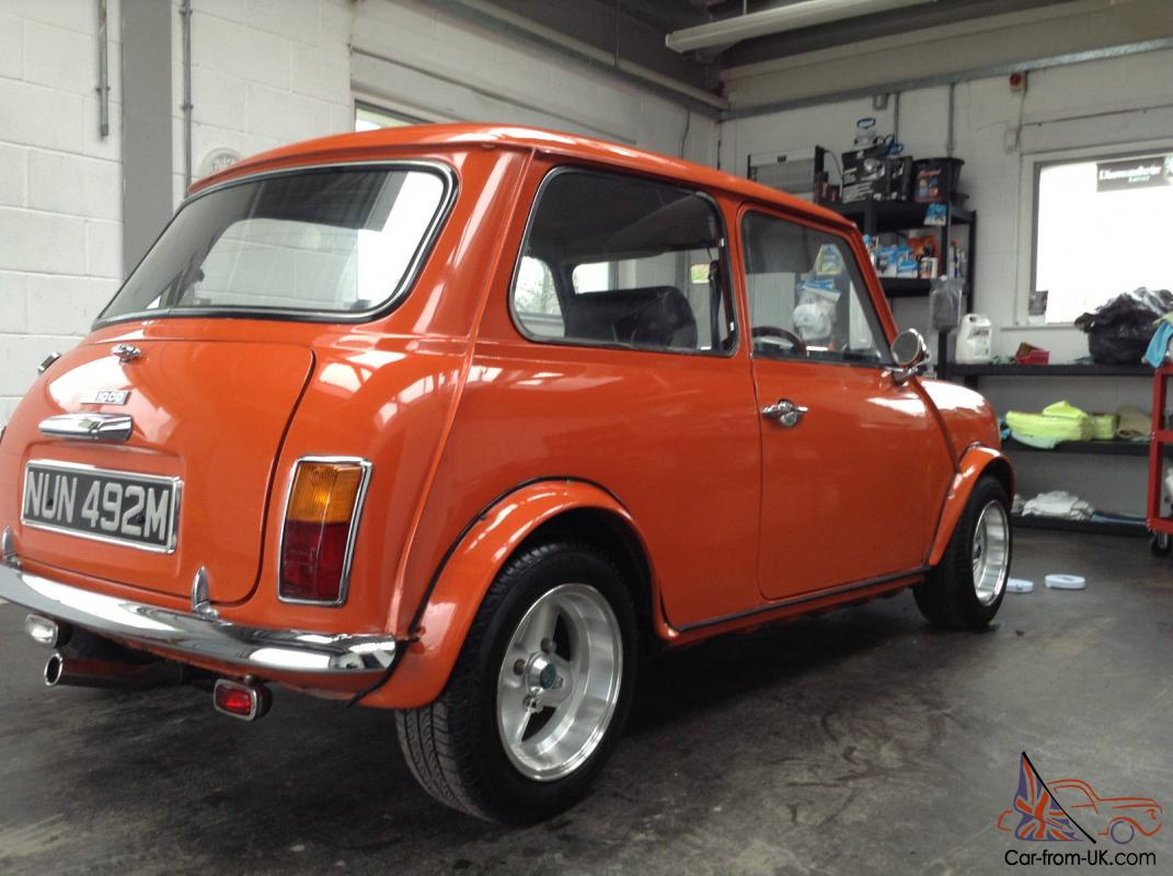 Classic Mini 1973 Rare Mark 3 Austin Morris Bmc Full Mot Amazing Wiring Harness Front Mk Cooper With Alternator