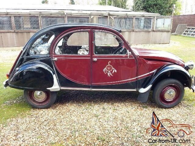 citroen 2cv charleston maroon black. Black Bedroom Furniture Sets. Home Design Ideas