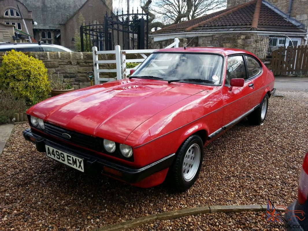ford capri 57k only 12 months mot special lsd axle. Black Bedroom Furniture Sets. Home Design Ideas