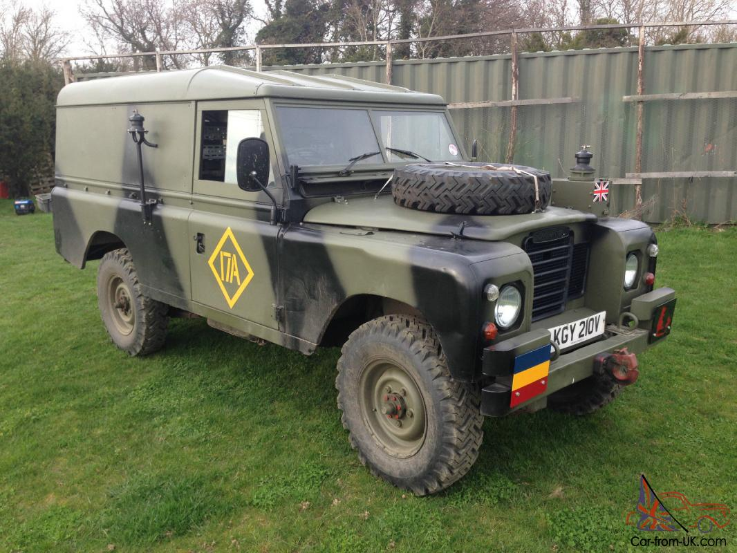 Land Rover Series 3 Ffr 109 Quot Ex Military