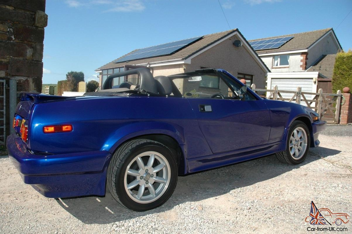 Triumph Tr7 39l V8 Convertible With 4 Barrel Holley Electronic