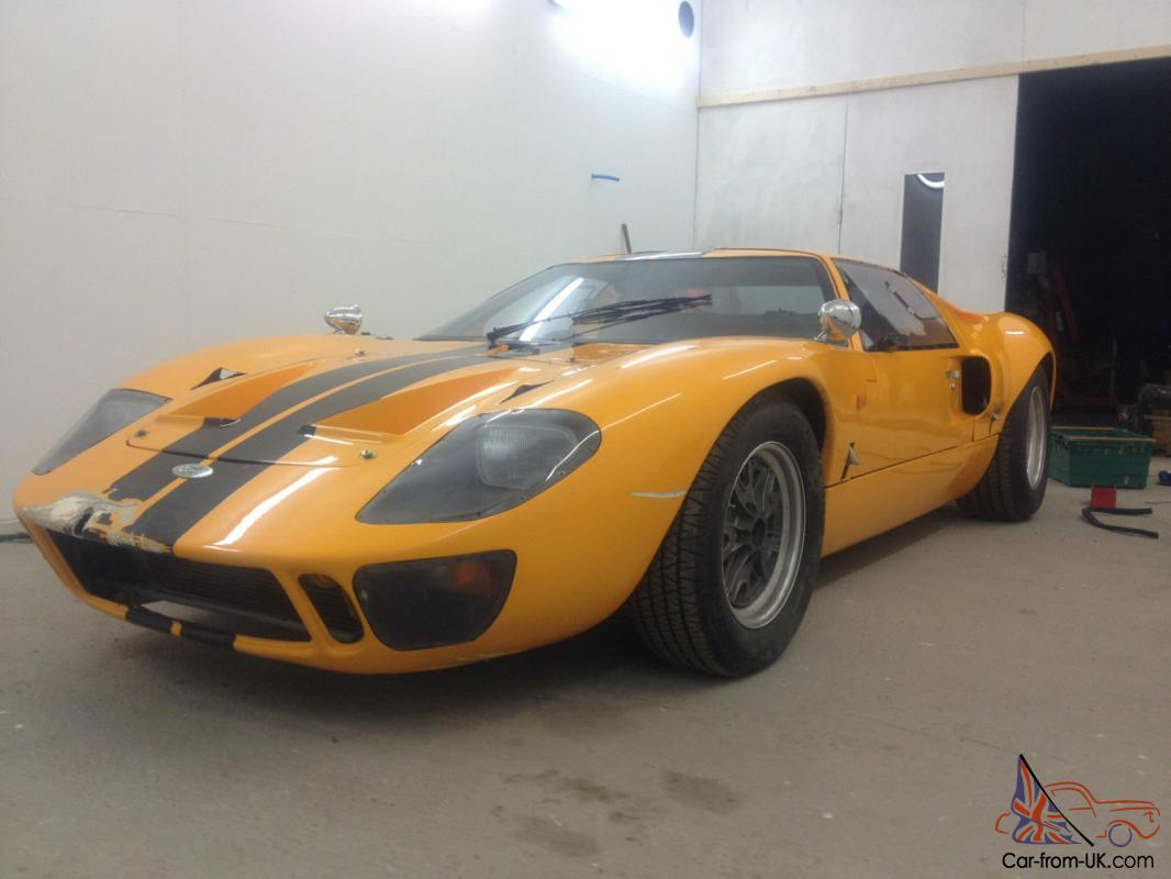 ford gt40 replica gtd chassis unfinished project kit car. Black Bedroom Furniture Sets. Home Design Ideas
