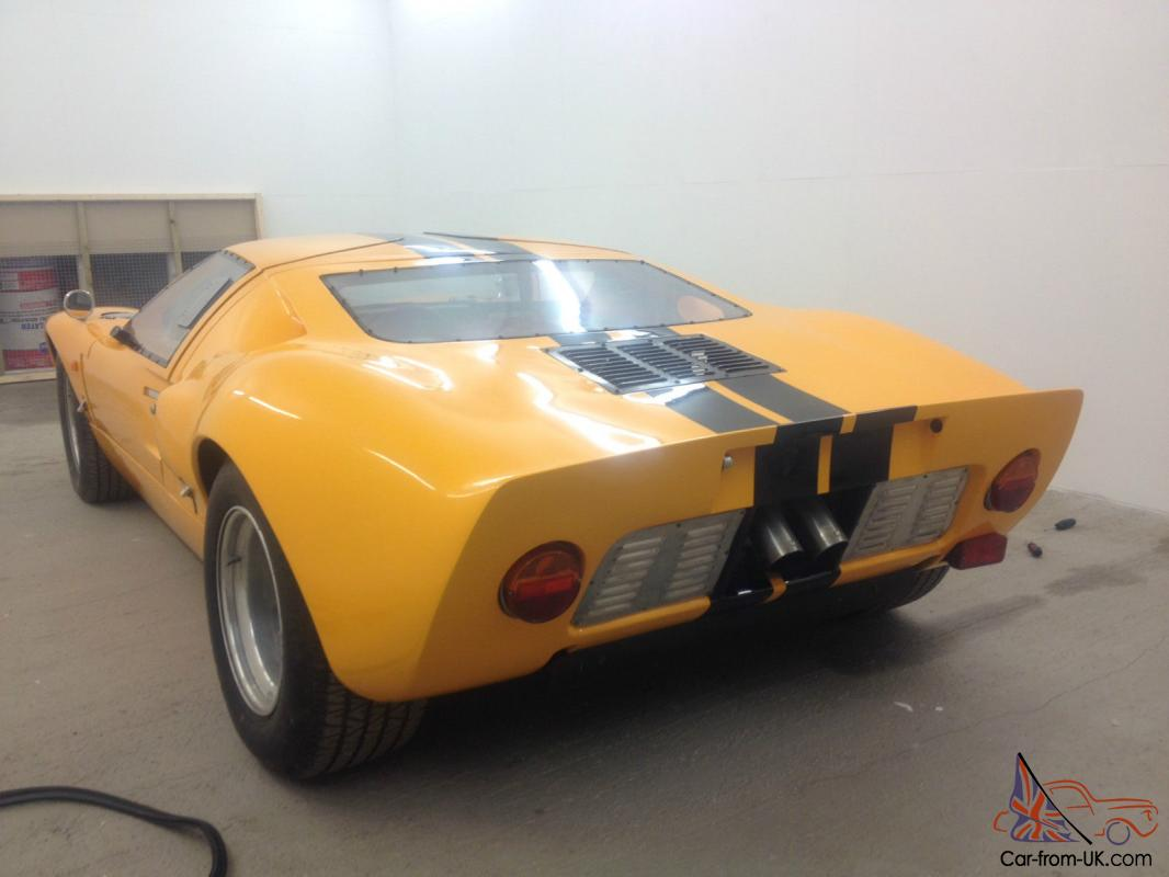 FORD GT40 REPLICA GTD CHASSIS UNFINISHED PROJECT KIT CAR