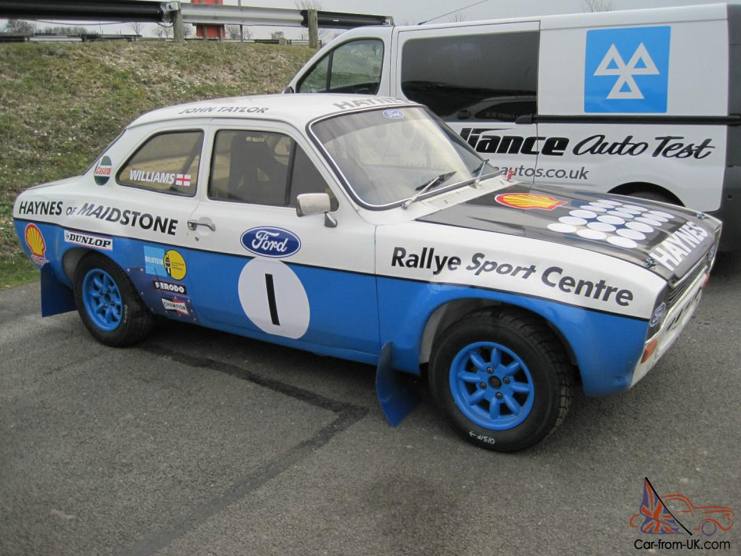 Escort, Rally Car, Historic, Rallycross, Classic Car,