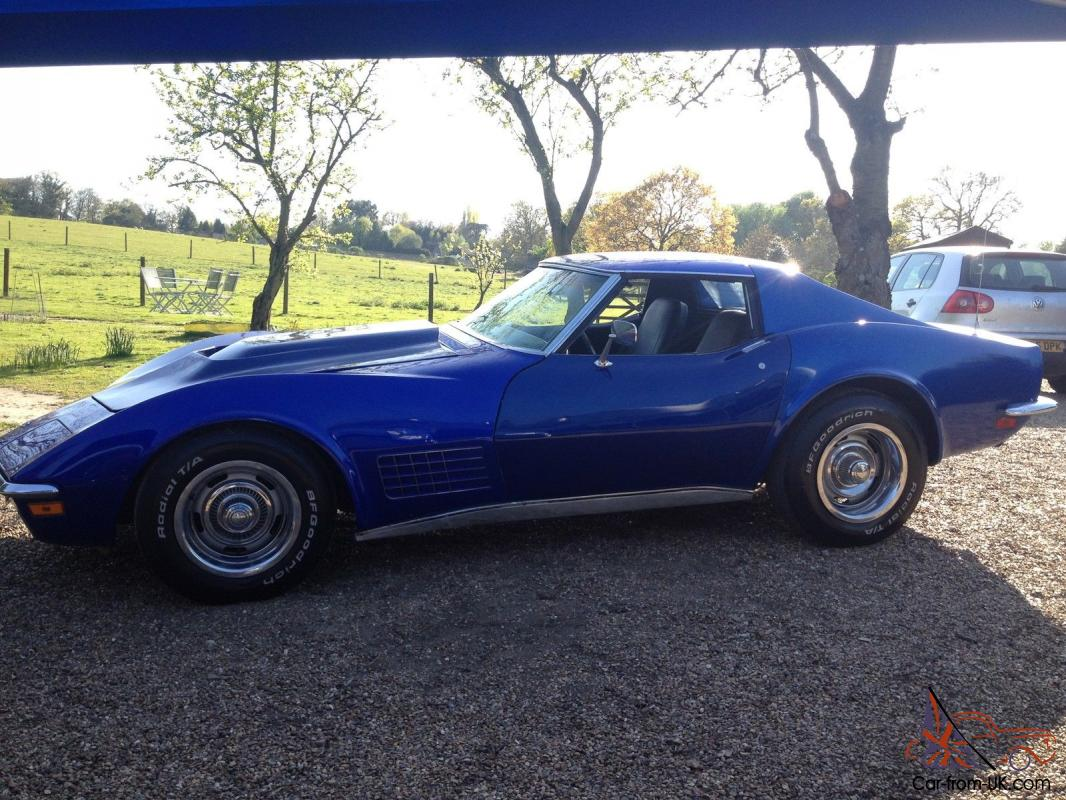 1972 CORVETTE STINGRAY 350 V8 AUTO T-TOP