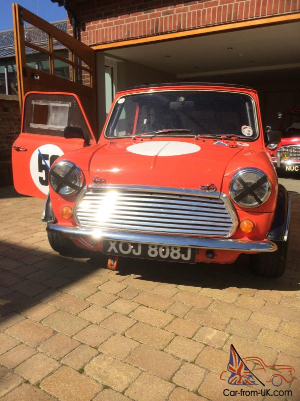 Classic Mini Race Car 1971